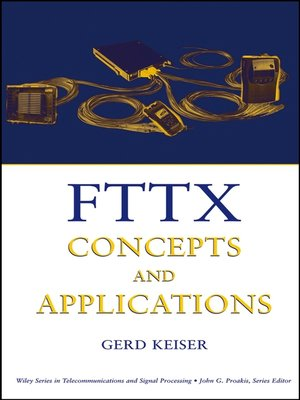 FTTX CONCEPTS AND APPLICATIONS EBOOK DOWNLOAD