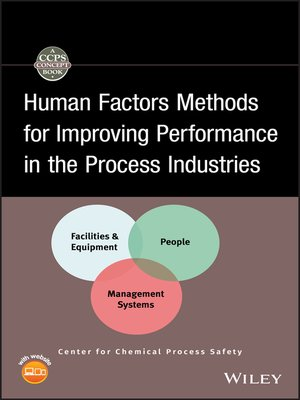 cover image of Human Factors Methods for Improving Performance in the Process Industries