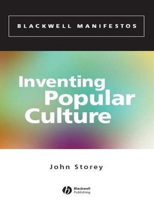 cover image of Inventing Popular Culture