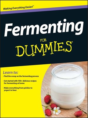 cover image of Fermenting For Dummies