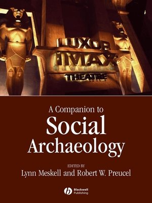 cover image of Companion to Social Archaeology