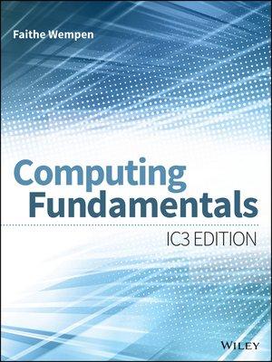 cover image of Computing Fundamentals