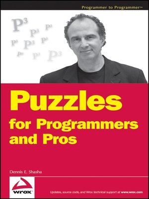 cover image of Puzzles for Programmers and Pros