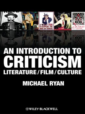 cover image of An Introduction to Criticism
