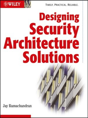 cover image of Designing Security Architecture Solutions