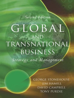 cover image of Global and Transnational Business