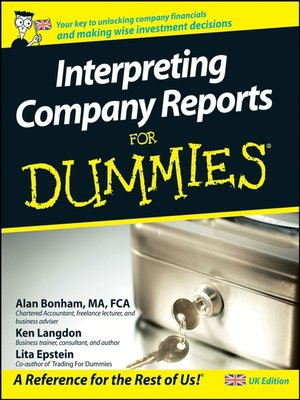 Business reports for dummies