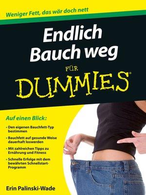 cover image of Endlich Bauch weg für Dummies