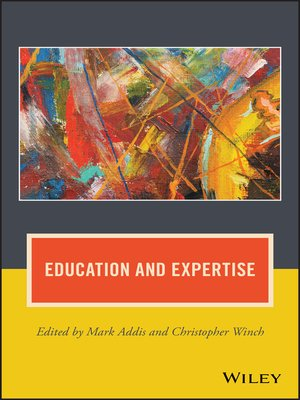 cover image of Education and Expertise