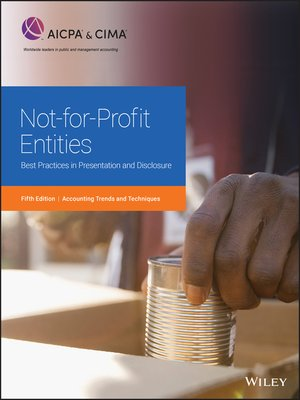 cover image of Not-for-Profit Entities