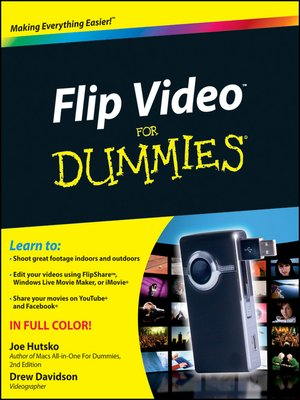 cover image of Flip Video For Dummies