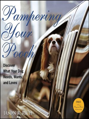 cover image of Pampering Your Pooch