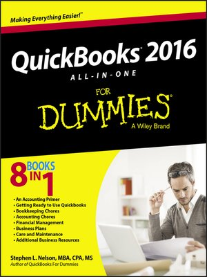 cover image of QuickBooks 2016 All-in-One For Dummies