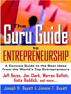 cover image of The Guru Guide to Entrepreneurship