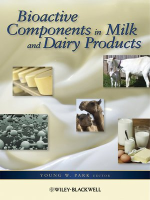 cover image of Bioactive Components in Milk and Dairy Products