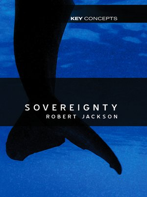 cover image of Sovereignty