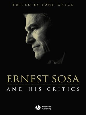 cover image of Ernest Sosa