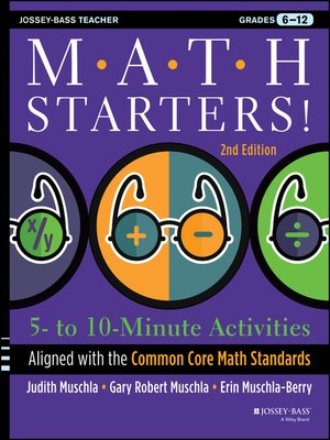 cover image of Math Starters
