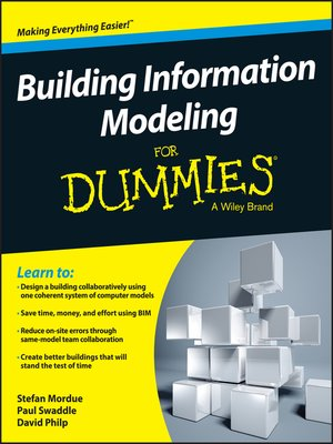cover image of Building Information Modeling for Dummies