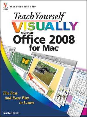 cover image of Teach Yourself VISUALLY Office 2008 for Mac