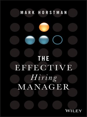 cover image of The Effective Hiring Manager