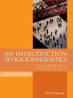 cover image of An Introduction to Sociolinguistics
