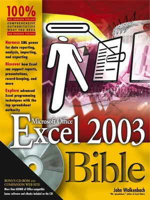 Microsoft excel 2013 bible website | John Walkenbach  2019-03-24