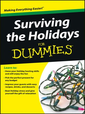 cover image of Surviving the Holidays For Dummies