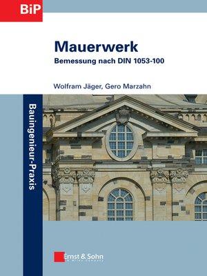 cover image of Mauerwerk