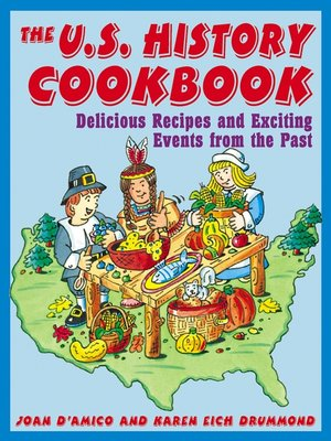 cover image of The U.S. History Cookbook