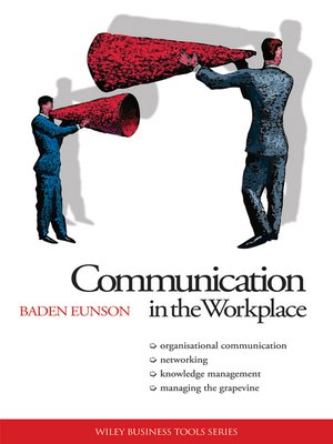cover image of Communication in the Workplace