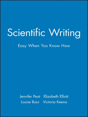 cover image of Scientific Writing