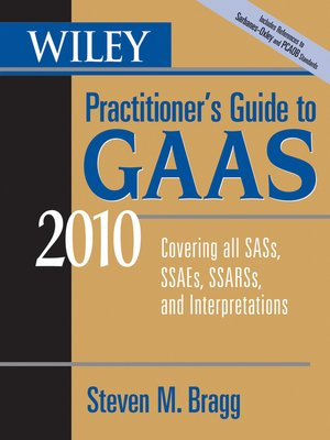 cover image of Wiley Practitioner's Guide to GAAS 2010