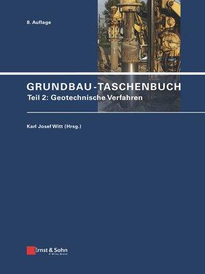 cover image of Grundbau-Taschenbuch, Teil 2