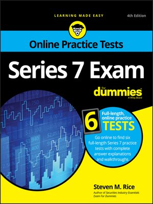cover image of Series 7 Exam For Dummies