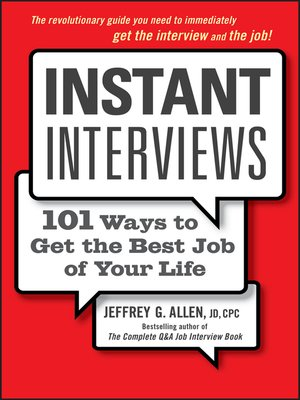 cover image of Instant Interviews