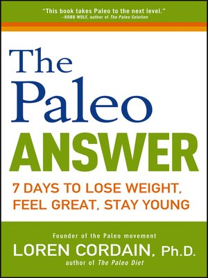 cover image of The Paleo Answer