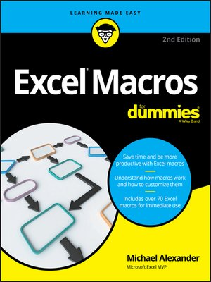 cover image of Excel Macros For Dummies