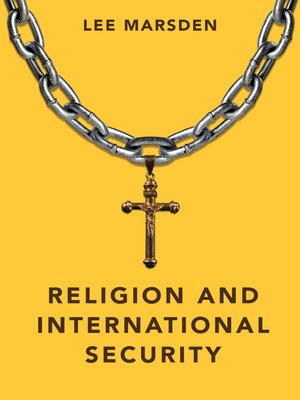 cover image of Religion and International Security