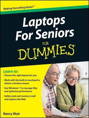 cover image of Laptops For Seniors For Dummies