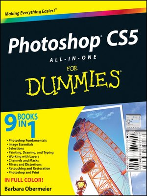 cover image of Photoshop CS5 All-in-One For Dummies