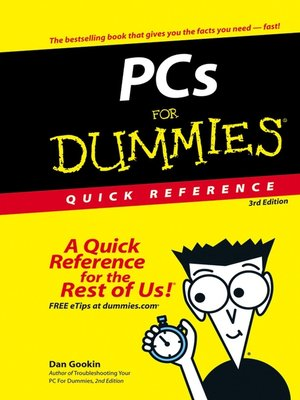 cover image of PCs For Dummies Quick Reference