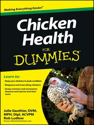 cover image of Chicken Health For Dummies