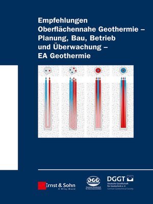 cover image of Empfehlung Oberflächennahe Geothermie