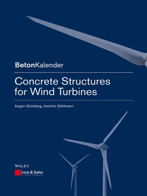 cover image of Concrete Structures for Wind Turbines