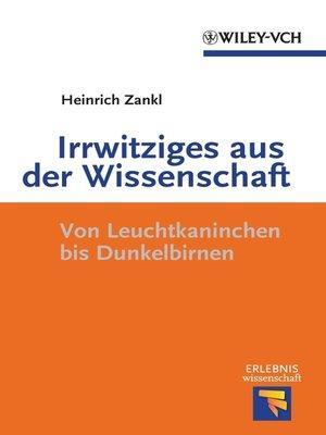 cover image of Irrwitziges aus der Wissenschaft