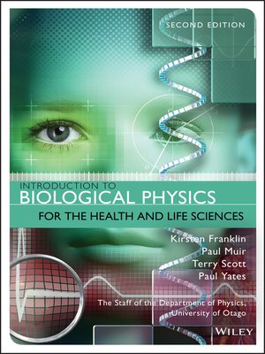 cover image of Introduction to Biological Physics for the Health and Life Sciences