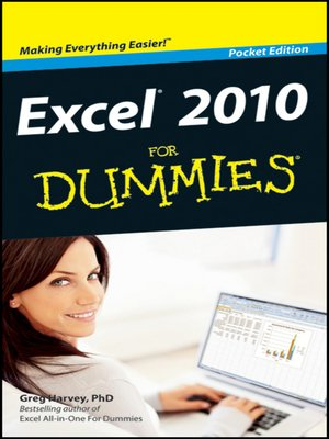 excel for dummies 2017 pdf