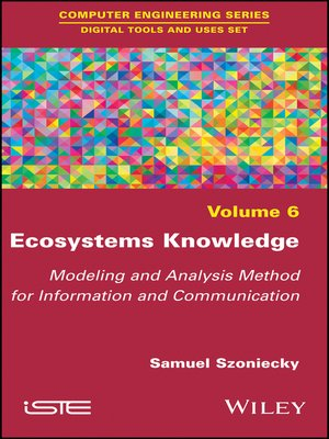 cover image of Ecosystems Knowledge