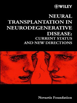 cover image of Neural Transplantation in Neurodegenerative Disease